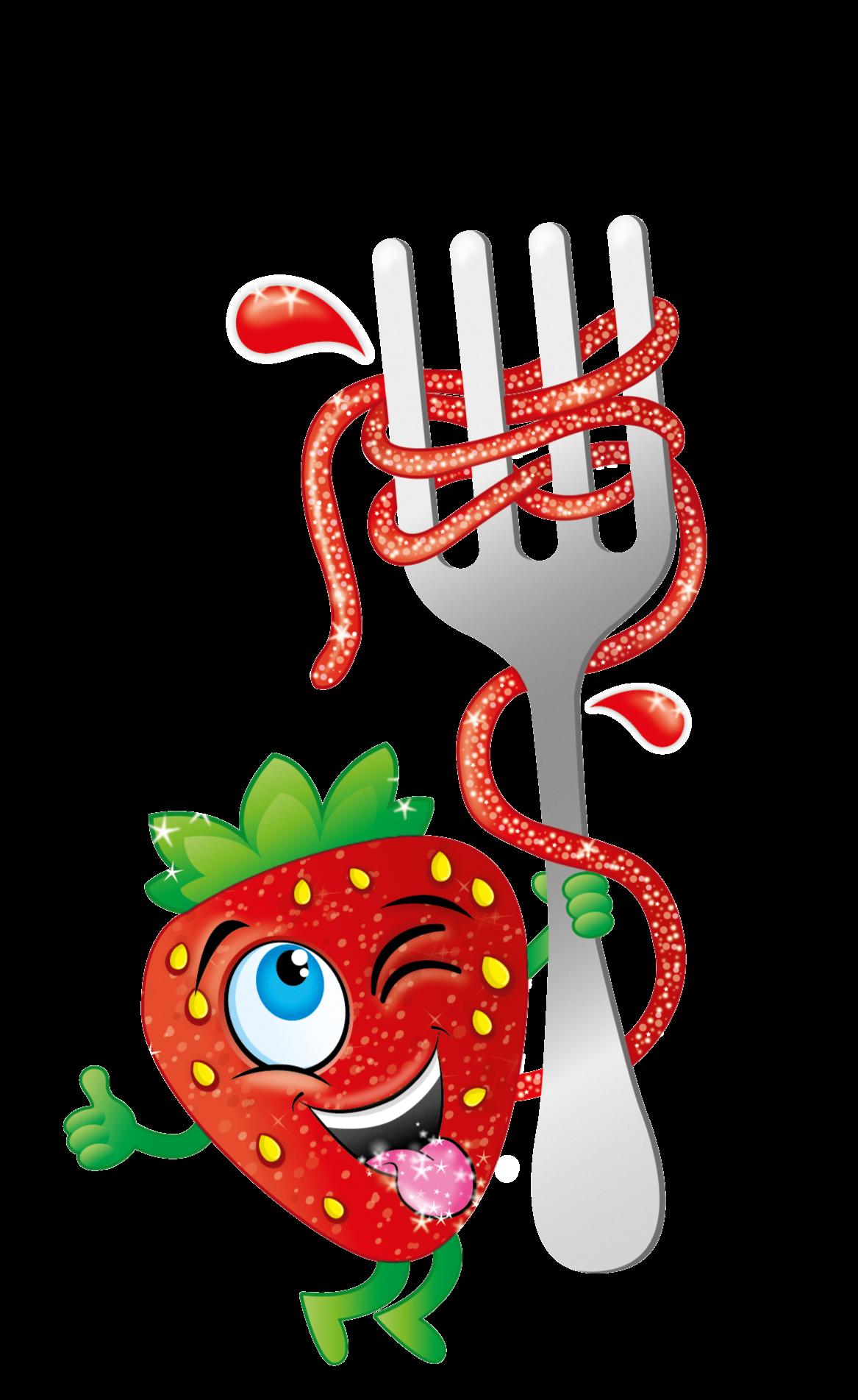 Illu Spaghetti Strawberry