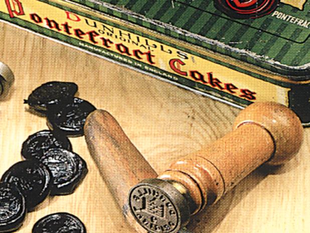 Historic image of Pontefract cakes