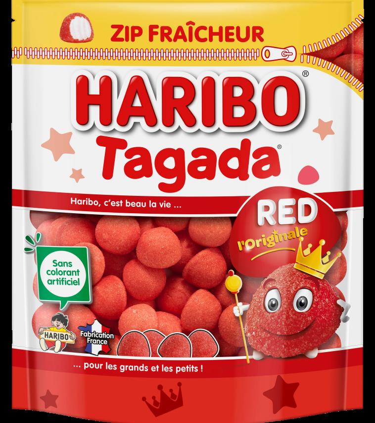 """Sachet HARIBO Tagada doypack 220g """