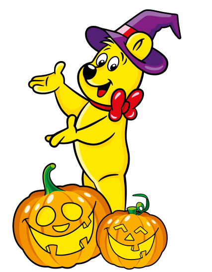 Halloween Goldbear Pumpkins 01