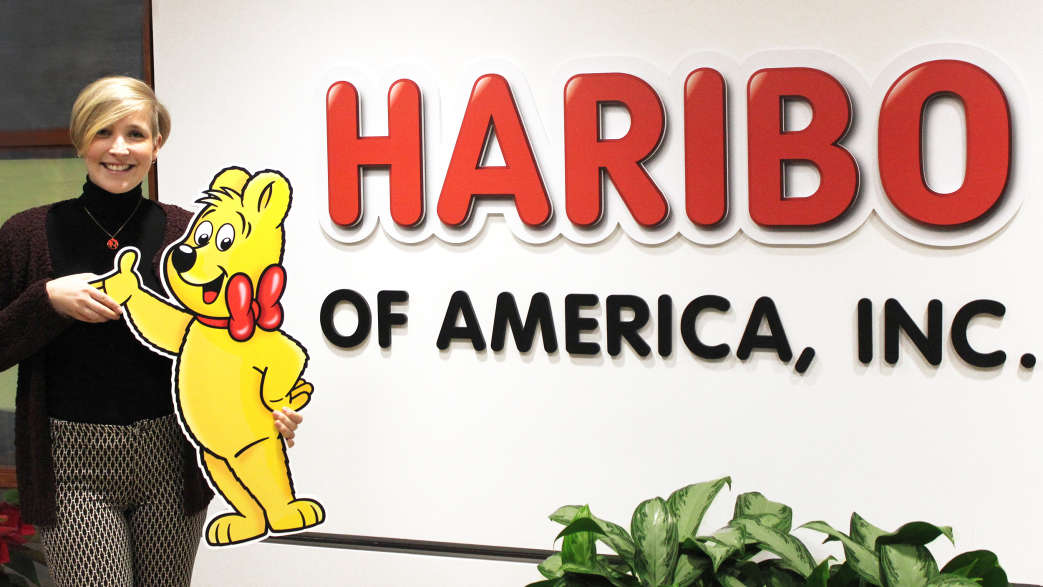 HARIBO-Mitarbeiterin am Standort USA