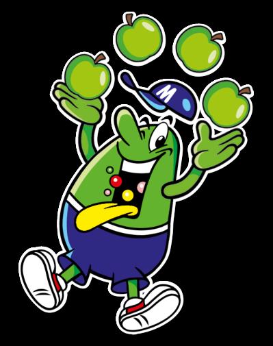 Illu Kracher Apfel