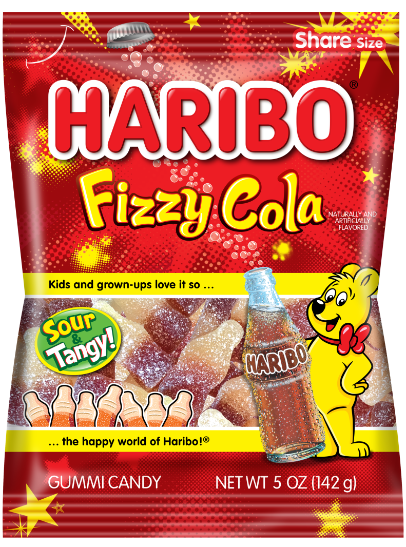 Pack of HARIBO Fizzy Cola