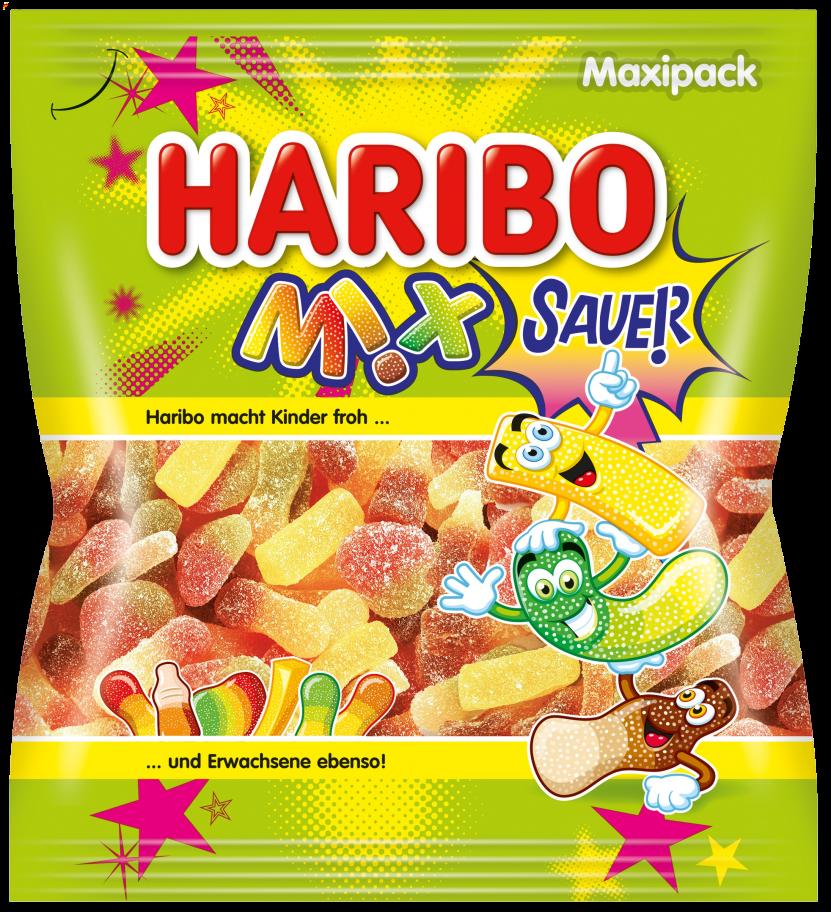 Beutel HARIBO Mix Sauer (300g)