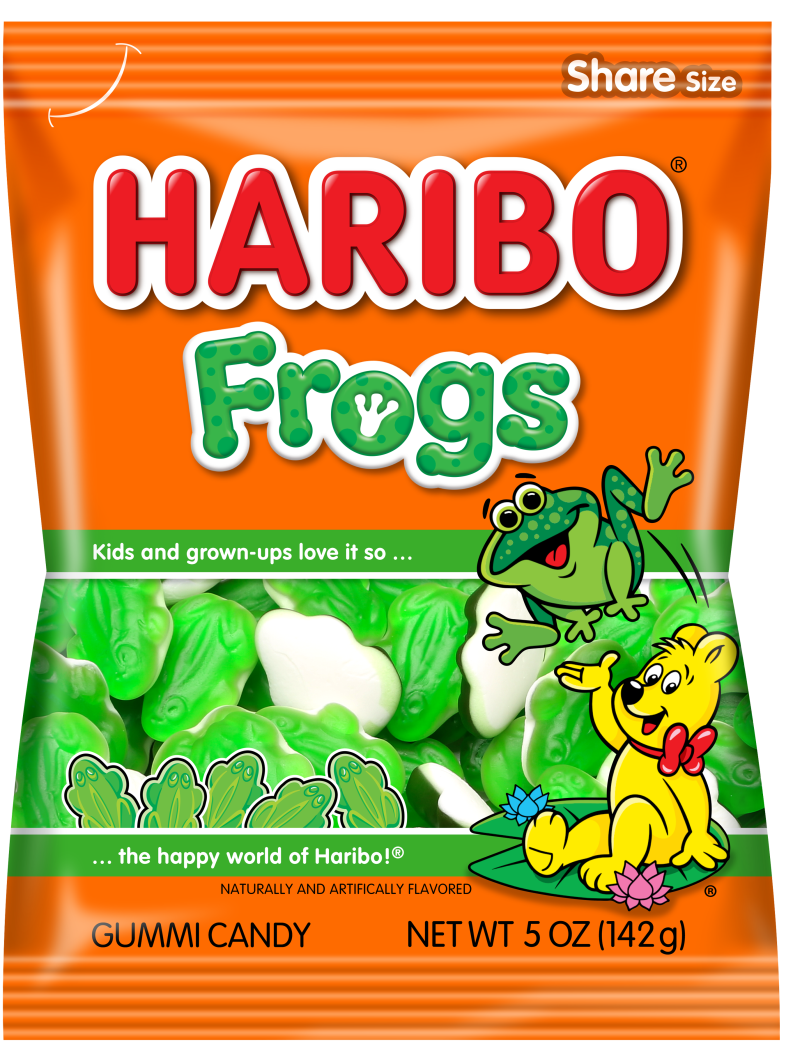 Pack of HARIBO Frogs