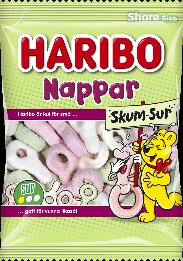 Nappar Skum Sur 120g