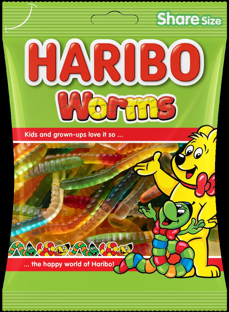 Bag of HARIBO Worms
