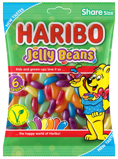 Bag of HARIBO Jelly Beans