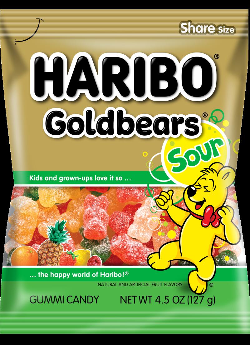 Pack of HARIBO Sour Goldbears