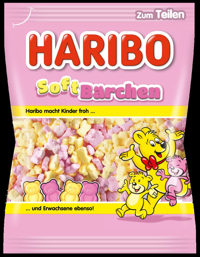 Beutel HARIBO Softbärchen