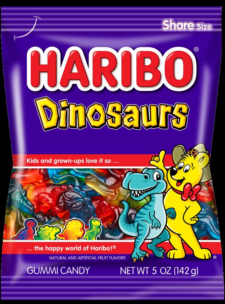 Pack of HARIBO Dinosaurs