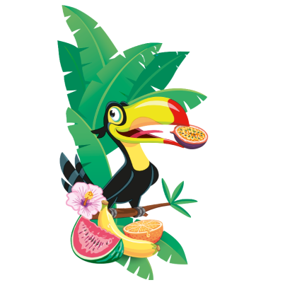 HRB Decorativo Tropic Frutti