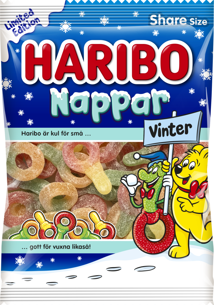 Nappar Vinter 170g