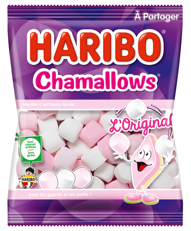 Sachet HARIBO Chamallows 300g
