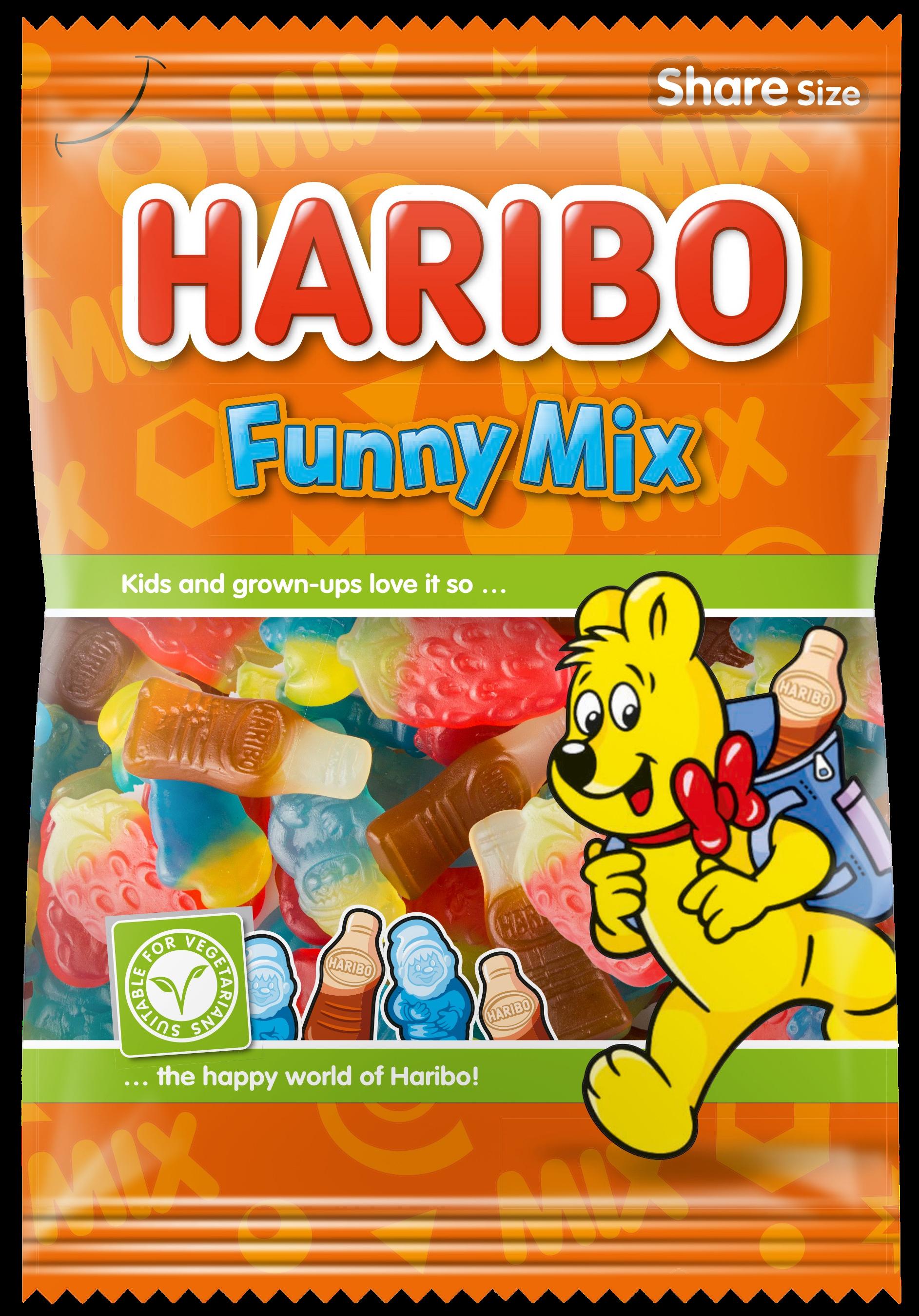 HARIBO Funny Mix productafbeelding