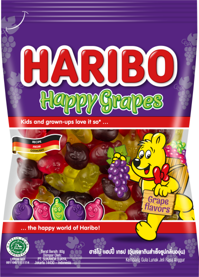 Happy Grapes 80g Pack