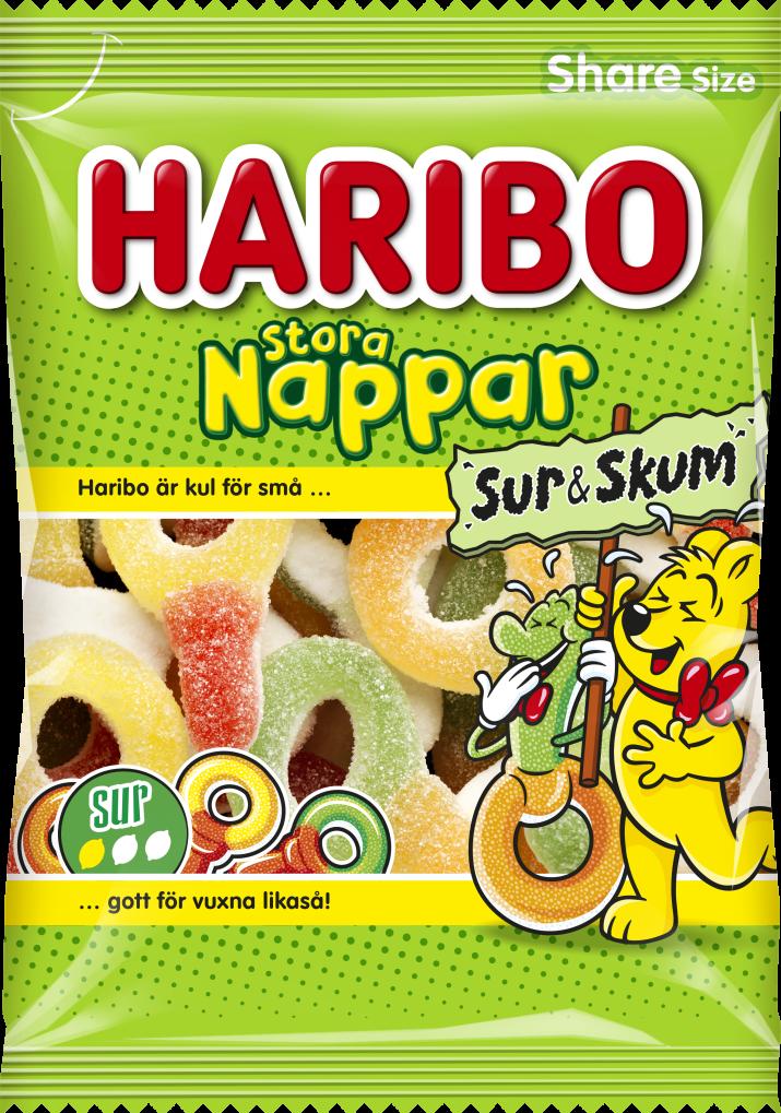 Stora Nappar Sur n Skum 170g
