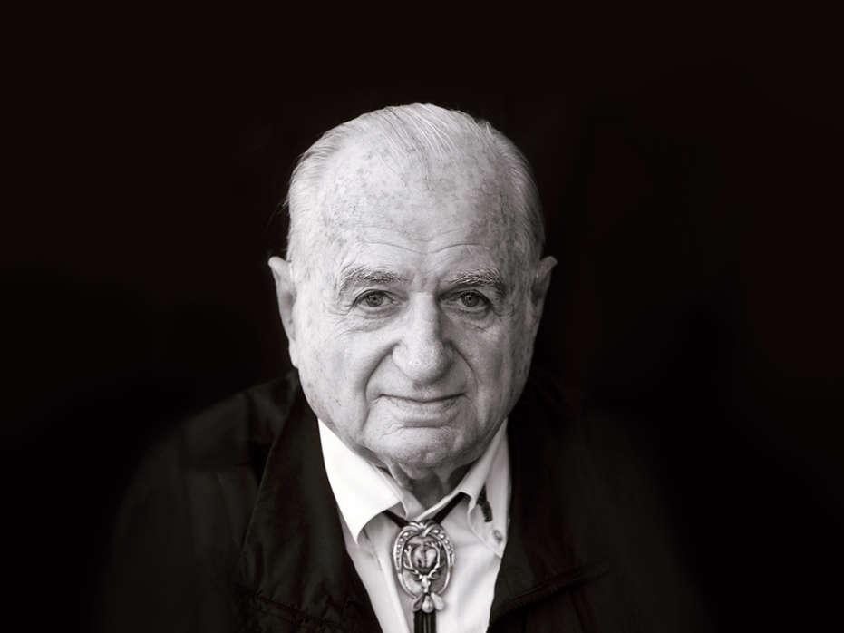 Foto a preto e branco de Hans Riegel