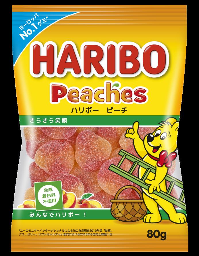 Bag of HARIBO Peaches