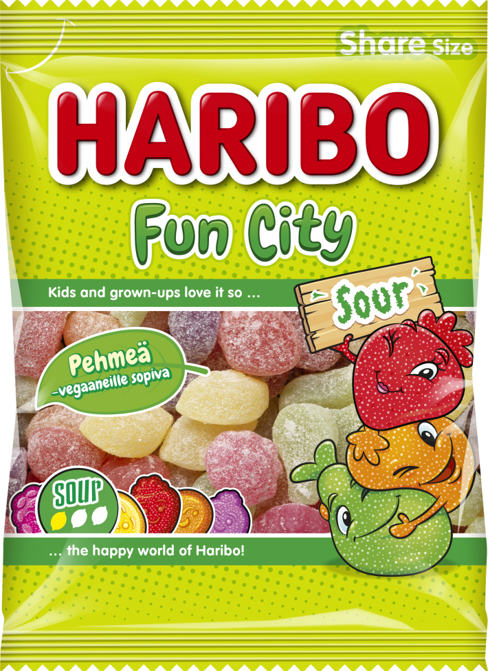 Fun City Sour 275g relaunch