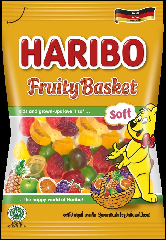 Bag of HARIBO Fruity Basket