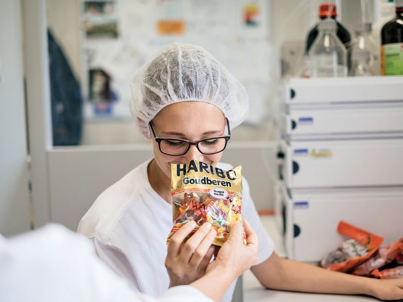 Smaakexpert test Goldbären op geur