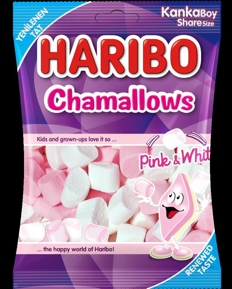 Chamallows Pink & White