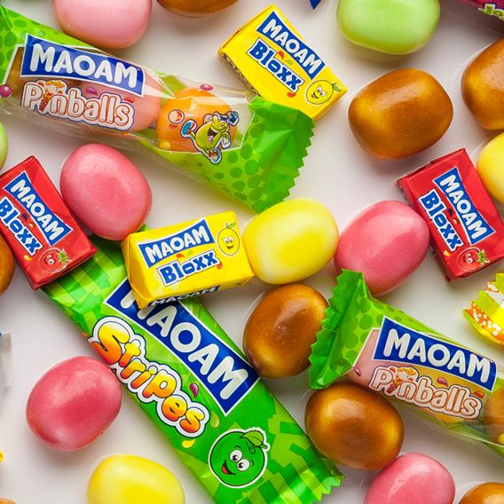 Many colorful MAOAM products