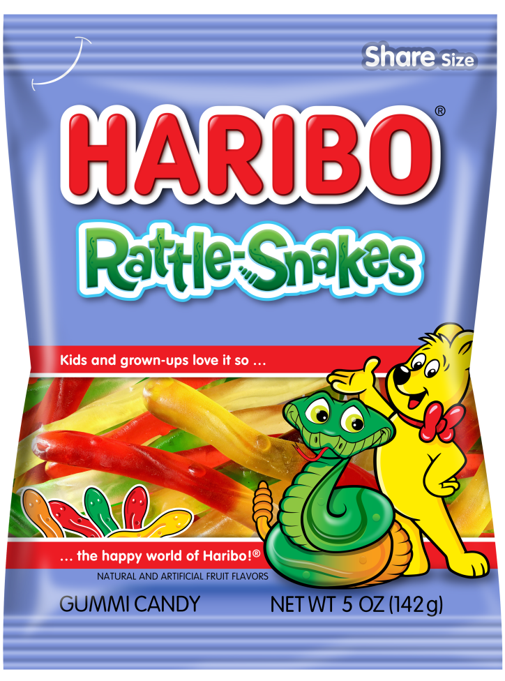 Pack of HARIBO Rattle-Snakes