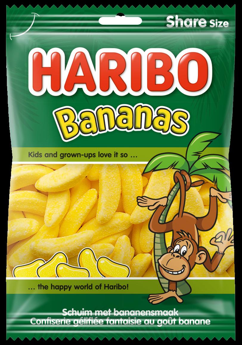 Beutel HARIBO Bananas