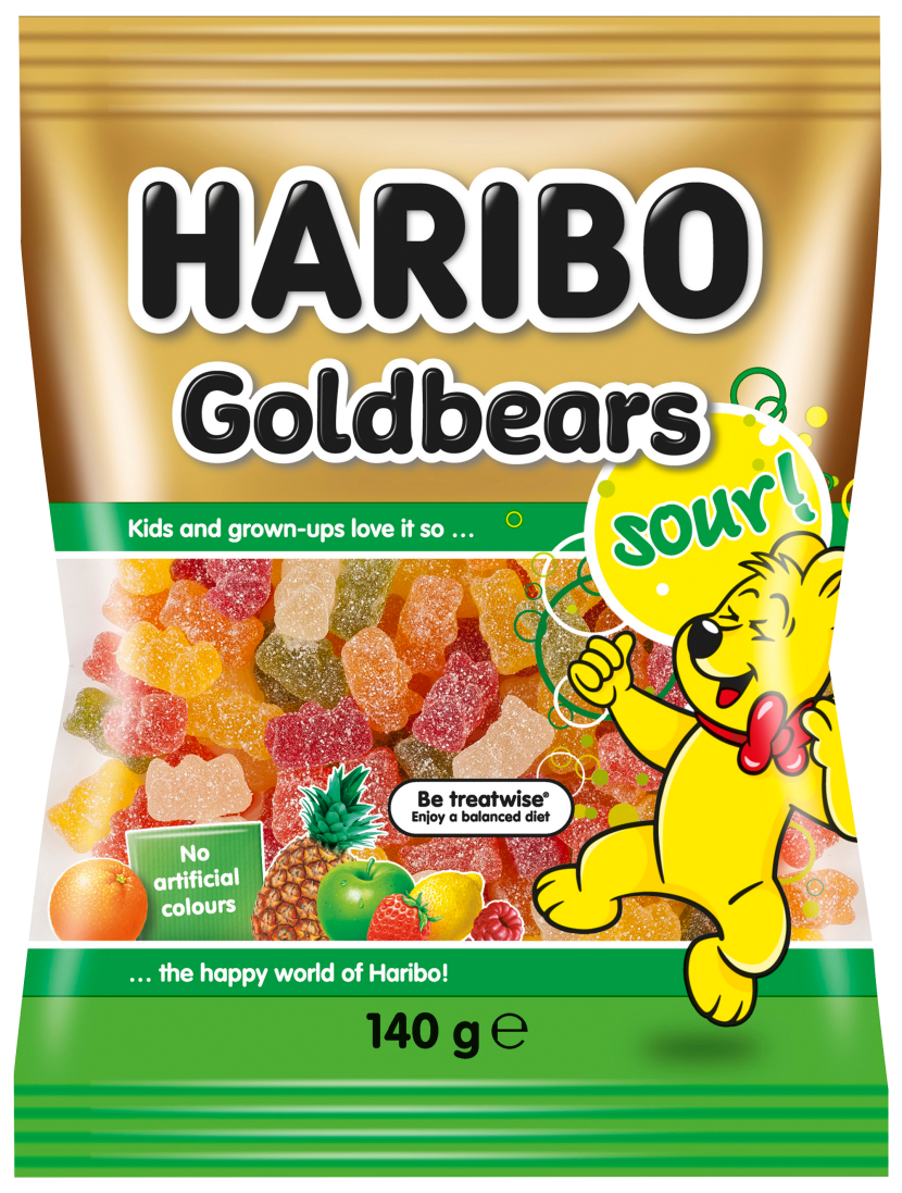 Beutel Goldbears sour