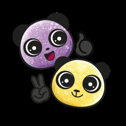 Haribo pandawaii illu