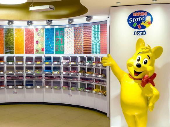 Candy Bar im HARIBO Shop Bonn