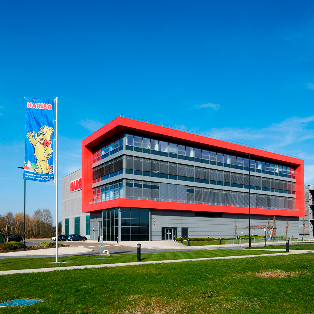 New Haribo factory and distribution centre located in Castleford, West Yorkshire, UK
