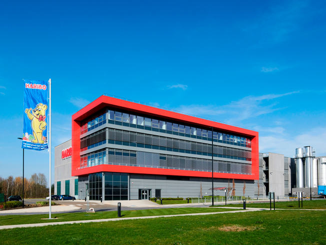 New Haribo factory and distribution centre located in Castleford, West Yorkshire, UK.