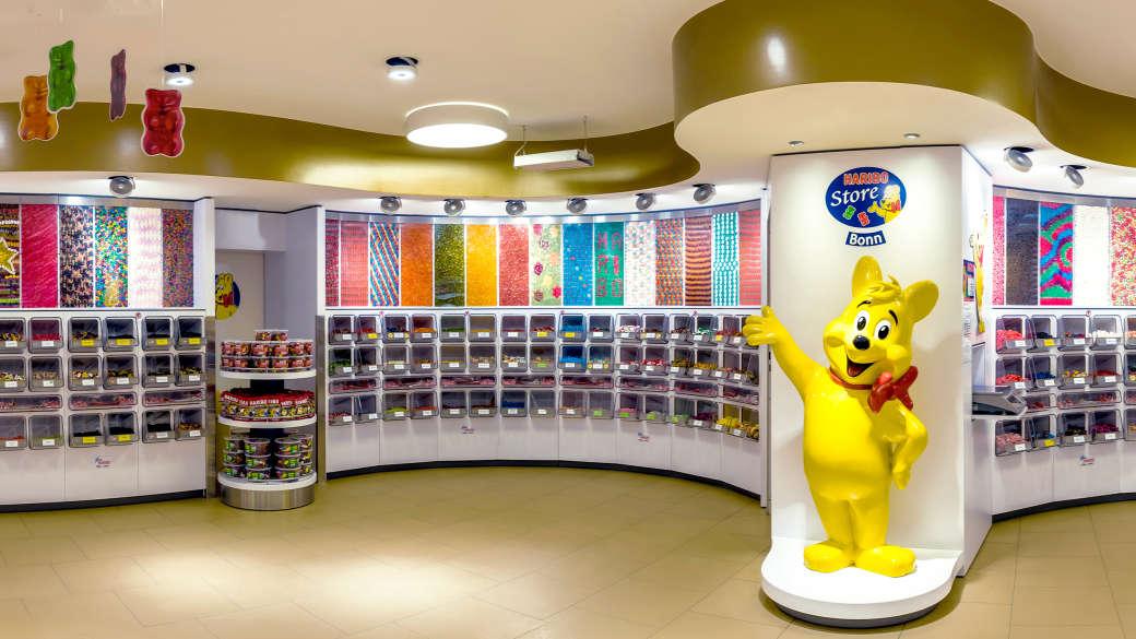 Innenansicht HARIBO Shop Bonn