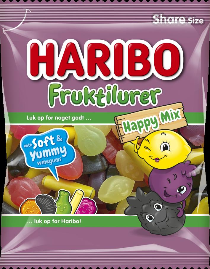 Fruktilurer Happy Mix 120g 2021