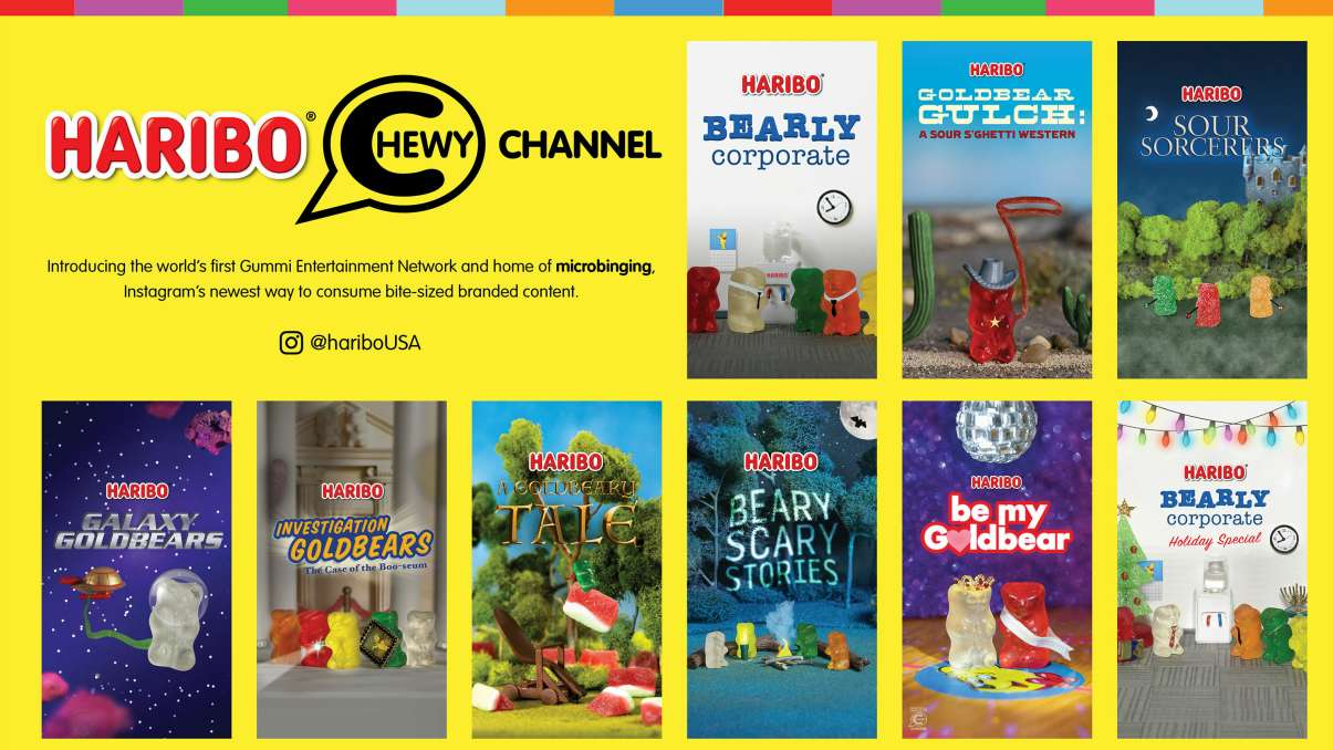 Chewy Channel Series Title Cards