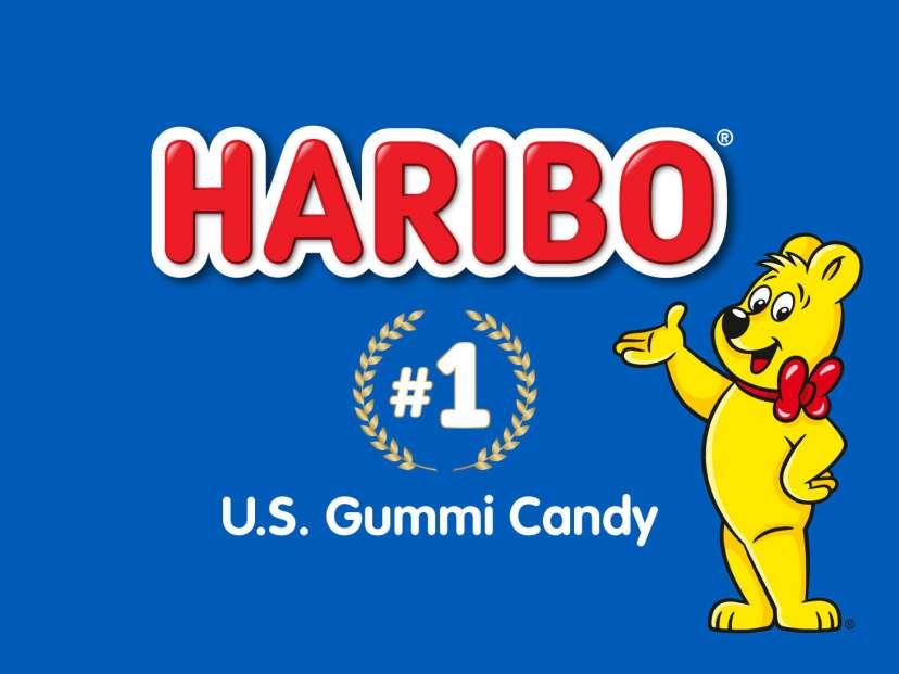 HARIBO #1 U.S. Gummi Candy