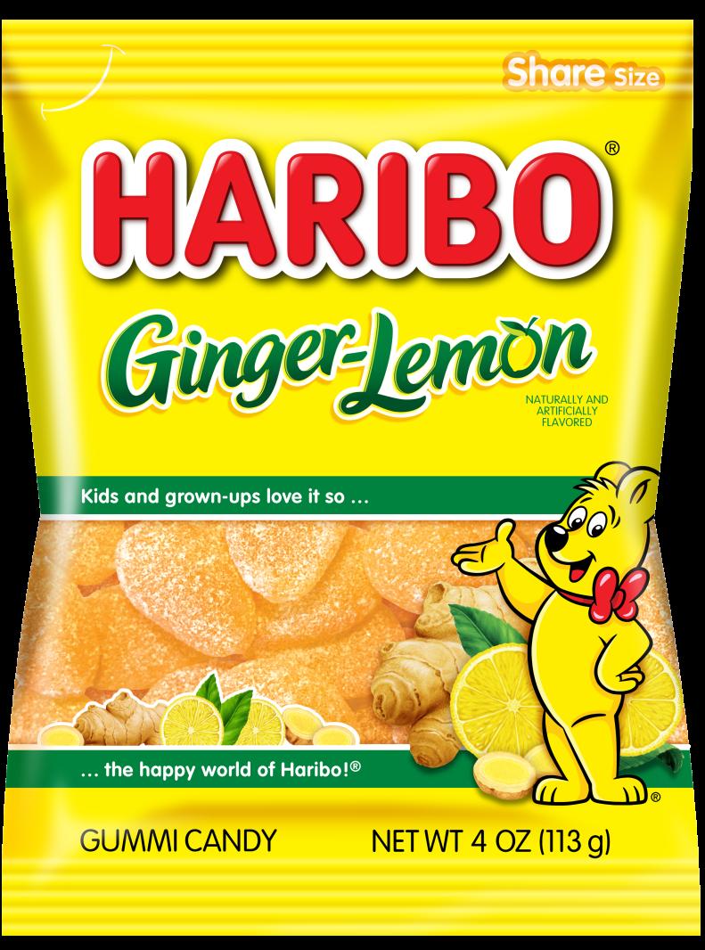 Pack of HARIBO Ginger Lemon