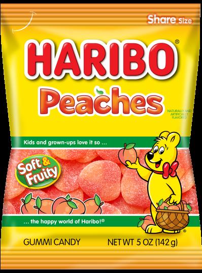 Pack of HARIBO Peaches