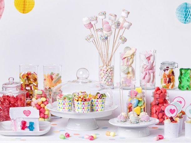 Candy Bar mit HARIBO Süßigkeiten