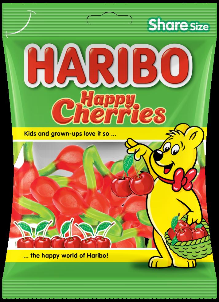Bag of HARIBO Happy Cherries