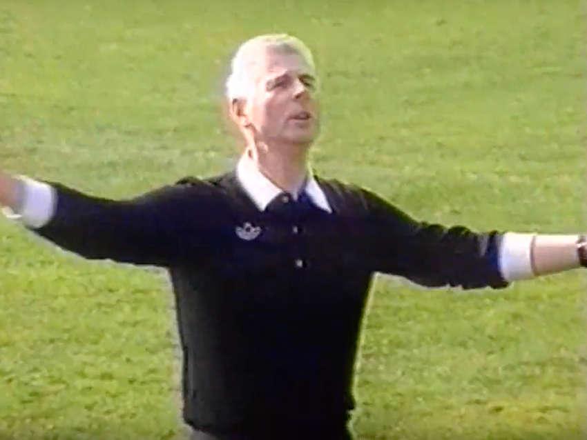 Schiedsrichter Walter Eschweiler im MAOAM-Werbespot