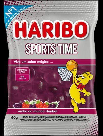 Sports Time Morango e Açaí