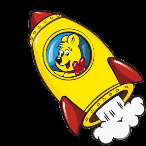 Starmix Rocket Illustration