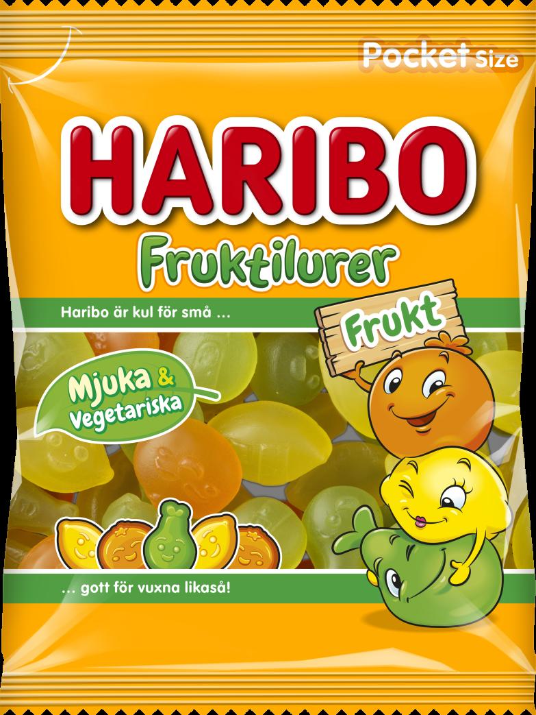 Fruktilurer Frukt 80g relaunch