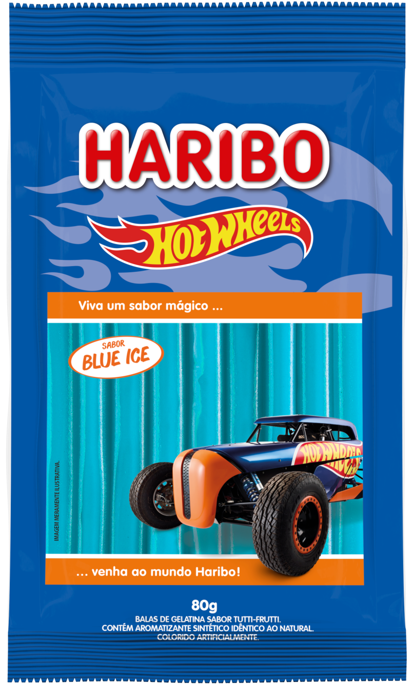 Hot Wheels Balla Sticks Blue Ice