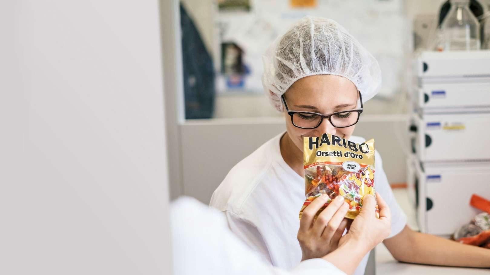 Controllo di qualità degli Orsetti d'Oro HARIBO