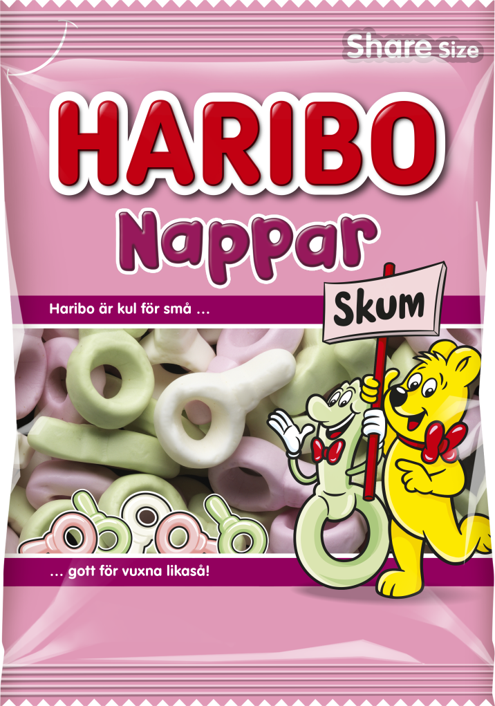 Nappar Skum 120g